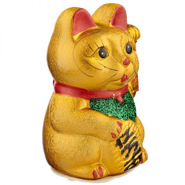 Maneki Neko Stredná mávajúca mačka pre šťastie 2 - pre milovníkov mačiek
