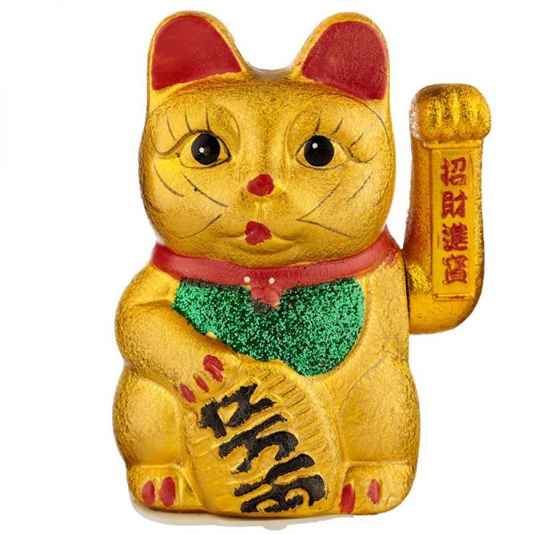 Maneki Neko Stredná mávajúca mačka pre šťastie 1 - pre milovníkov mačiek