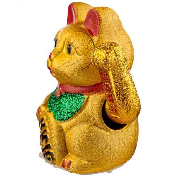 Maneki Neko Stredná mávajúca mačka pre šťastie 5 - pre milovníkov mačiek