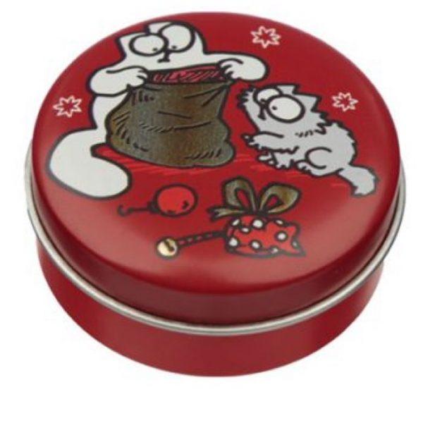 Simon's Cat Christmas Cat Balzam na pery v plechovke - Korenený pomaranč 1 - pre milovníkov mačiek