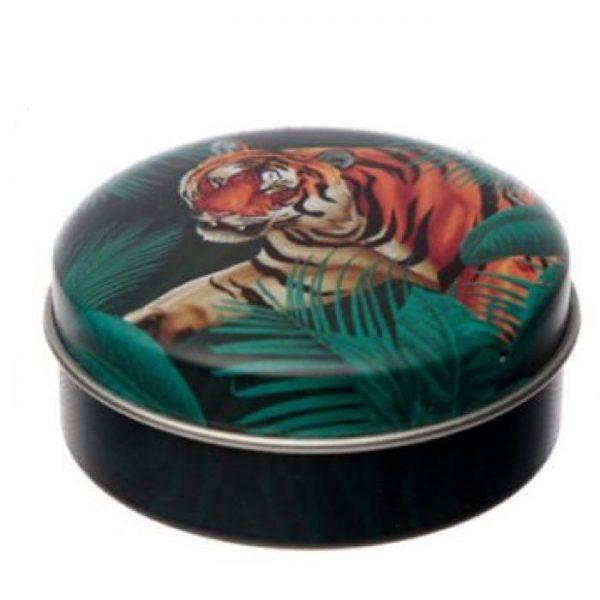 Spots & Stripes Big Cat Animal Print Balzam na pery v plechovke - pomaranč 1 - pre milovníkov mačiek